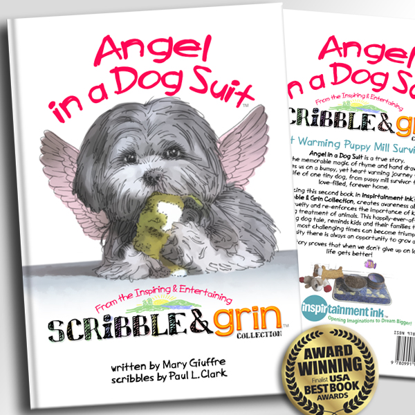 Book cover: Angel in a Dog Suit