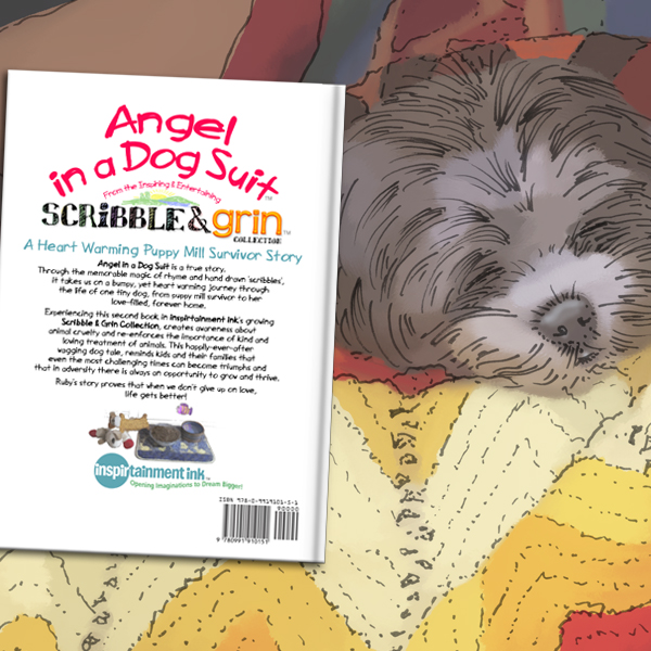 Book Back Cover: Angel in a Dog Suit